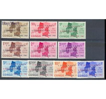 Znaczek Kongo Kinszasa / Zair 1961 Mi 49-58 Czyste **