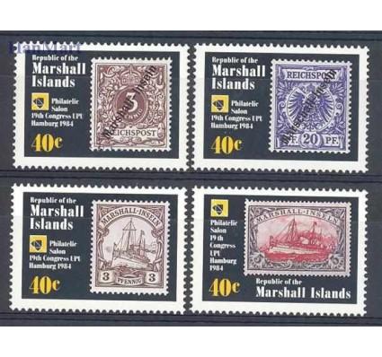 Wyspy Marshalla 1984 Mi 15-18 Czyste **