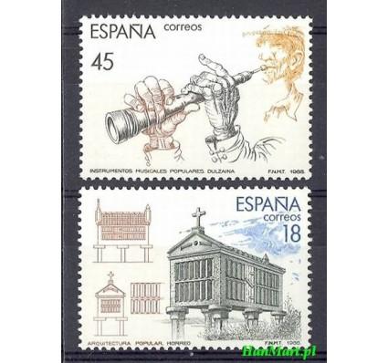 Hiszpania 1988 Mi 2836-2837 Czyste **