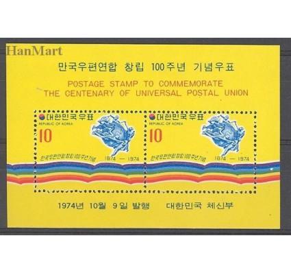 Korea Południowa 1974 Mi bl 391 Czyste **