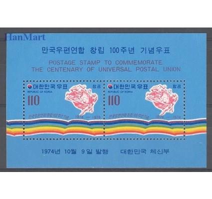 Korea Południowa 1974 Mi bl 392 Czyste **