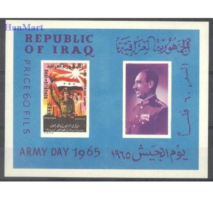 Znaczek Irak 1965 Mi bl 6 Czyste **
