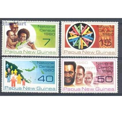 Znaczek Papua Nowa Gwinea 1980 Mi 390-393 Czyste **