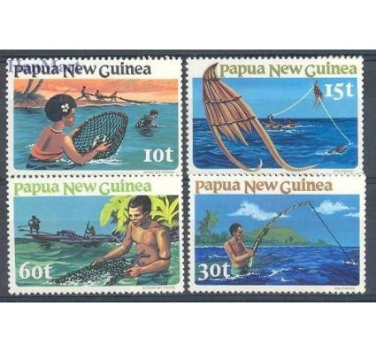 Znaczek Papua Nowa Gwinea 1980 Mi 418-421 Czyste **