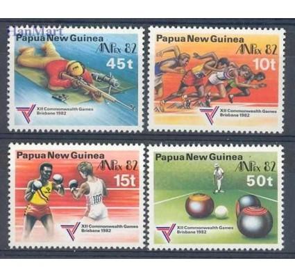 Znaczek Papua Nowa Gwinea 1982 Mi 455-458 Czyste **