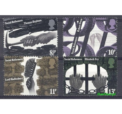 Znaczek Wielka Brytania 1976 Mi 706-709 Czyste **