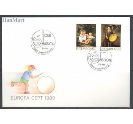 Luksemburg 1989 Mi 1219-1220 FDC