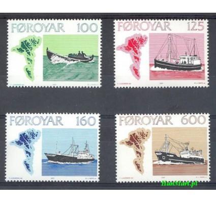 Wyspy Owcze 1977 Mi 24-27 Czyste **