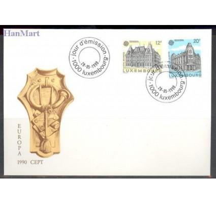 Znaczek Luksemburg 1990 Mi 1243-1244 FDC