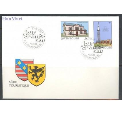 Znaczek Luksemburg 1991 Mi 1273-1274 FDC