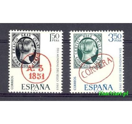 Znaczek Hiszpania 1969 Mi 1809-1810 Czyste **