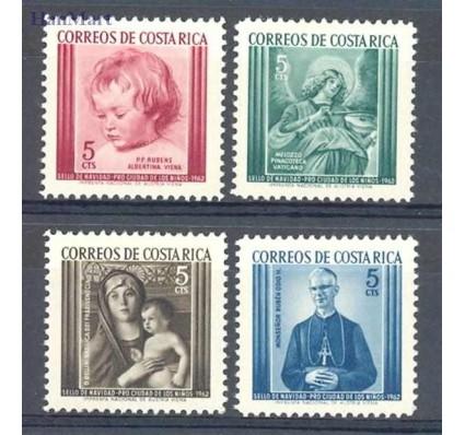 Kostaryka 1962 Mi 12-15 Czyste **