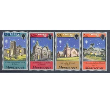 Znaczek Montserrat 1981 Mi 476-479 Czyste **