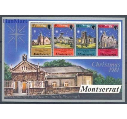 Znaczek Montserrat 1981 Mi bl 25 Czyste **