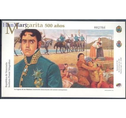 Znaczek Wenezuela 1998 Mi bl 57 Czyste **