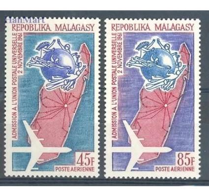 Znaczek Madagaskar 1963 Mi 507-508 Czyste **