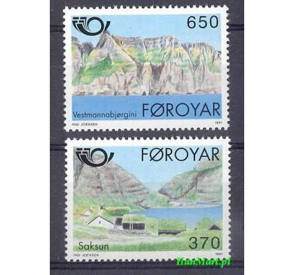 Znaczek Wyspy Owcze 1991 Mi 219-220 Czyste **