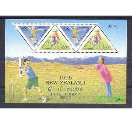 Nowa Zelandia 1995 Mi bl 49 Czyste **