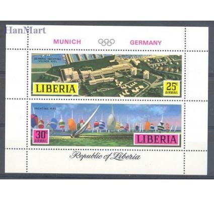 Znaczek Liberia 1971 Mi bl 55 Czyste **