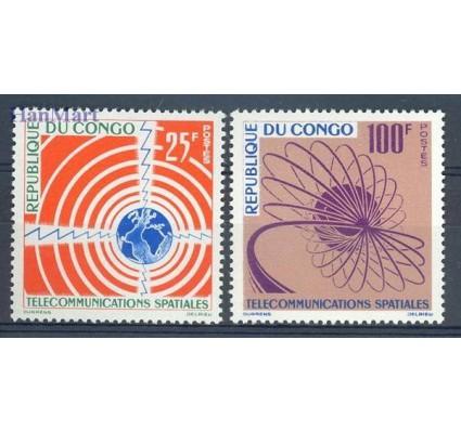 Kongo 1963 Mi 30-31 Czyste **