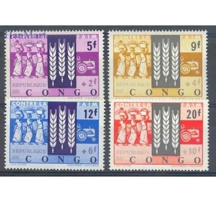 Znaczek Kongo Kinszasa / Zair 1963 Mi 108-111 Czyste **