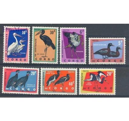 Znaczek Kongo Kinszasa / Zair 1963 Mi 138-144 Czyste **