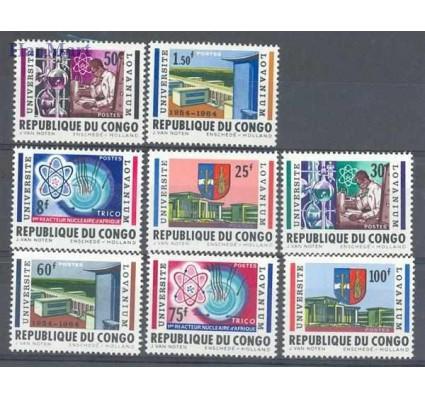 Znaczek Kongo Kinszasa / Zair 1964 Mi 155-162 Czyste **