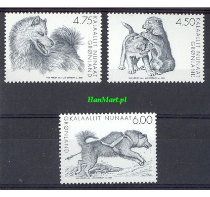 Znaczek Grenlandia 2003 Mi 393-395 Czyste **
