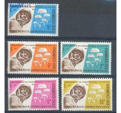 Znaczek Kongo Kinszasa / Zair 1965 Mi 235-239 Czyste **