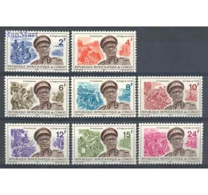 Znaczek Kongo Kinszasa / Zair 1966 Mi 258-265 Czyste **