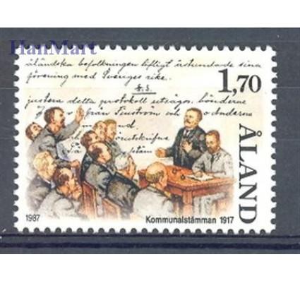 Znaczek Wyspy Alandzkie 1987 Mi 25 Czyste **