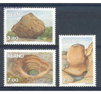 Znaczek Wyspy Alandzkie 1995 Mi 92-94 Czyste **