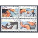 Nowa Zelandia 1992 Mi 1226-1229 Czyste **