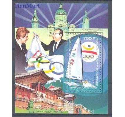 Znaczek Gwinea 1989 Mi bl 333 Czyste **