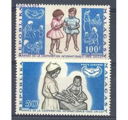 Znaczek Madagaskar 1965 Mi 536-537 Czyste **