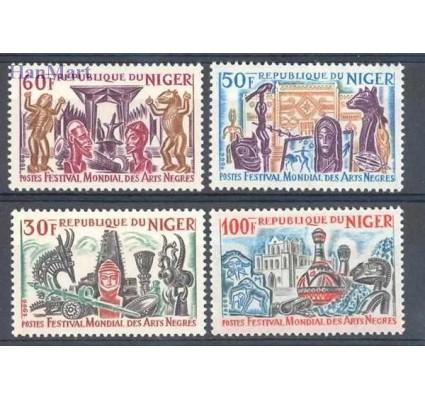 Niger 1966 Mi 120-123 Czyste **