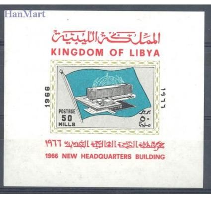 Znaczek Libia 1966 Mi bl 15 Czyste **