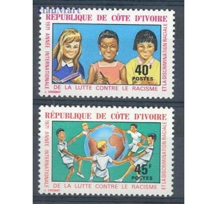 Znaczek Wybrzeże Kości Słoniowej 1971 Mi 389-390 Czyste **