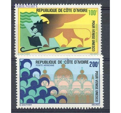 Znaczek Wybrzeże Kości Słoniowej 1972 Mi 399-400 Czyste **