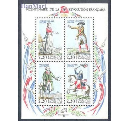 Znaczek Francja 1989 Mi bl 8 Czyste **