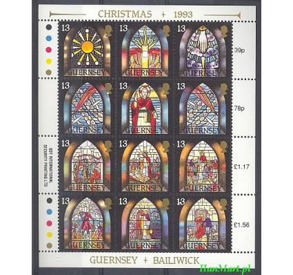 Guernsey 1993 Mi ark 622-633 Czyste **