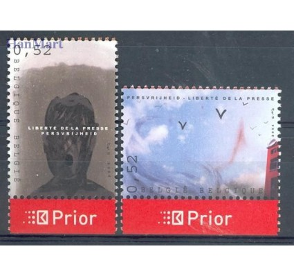 Znaczek Belgia 2006 Mi 3542-3543 Czyste **