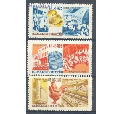 Znaczek Korea Północna 1972 Mi 1129-1131 Czyste **