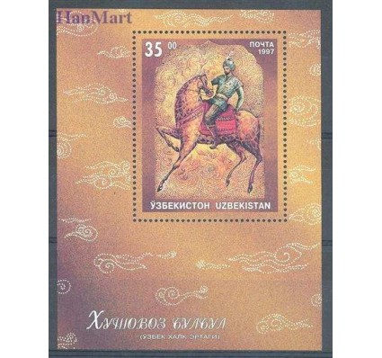 Znaczek Uzbekistan 1997 Mi bl 16 Czyste **