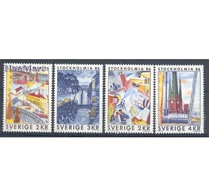 Znaczek Szwecja 1985 Mi 1336-1339 Czyste **