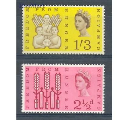 Wielka Brytania 1962 Mi 354-355 Czyste **