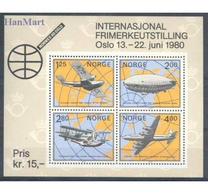 Norwegia 1979 Mi bl 2 Czyste **
