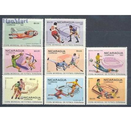 Znaczek Nikaragua 1981 Mi 2182-2189 Czyste **