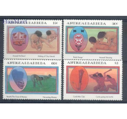 Antigua i Barbuda 1985 Mi 841-844 Czyste **