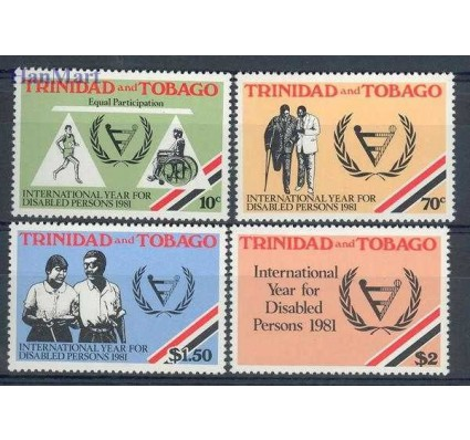 Trynidad i Tobago 1981 Mi 428-431 Czyste **